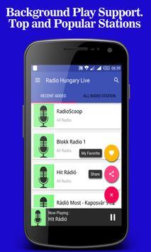 Radio Hungary Live apk screenshot