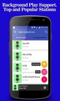 Radio Iceland Live screenshot 3