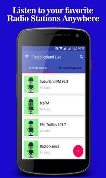 Radio Iceland Live poster