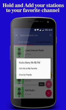 Radio Ireland Live apk screenshot