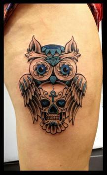 Owl Tattoos poster