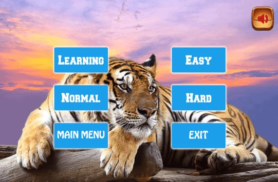 Learning Animals and Memory Games poster