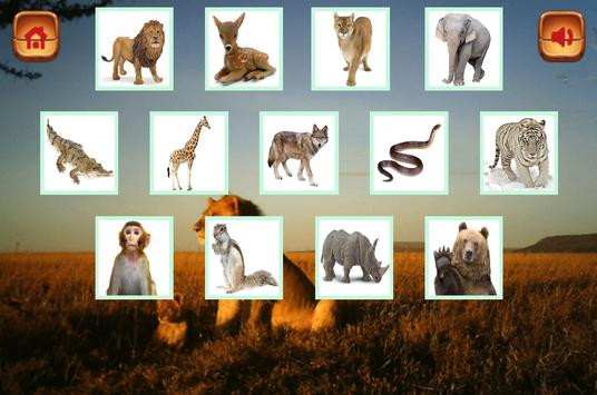 Learning Animals and Memory Games screenshot 2