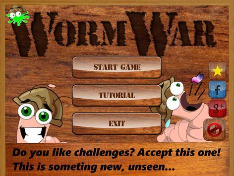 WormWar poster