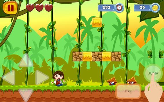 Super DOra World Sandy Explorer Game screenshot 5