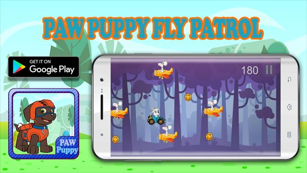 Paw Puppy Pups Fly Patrol poster