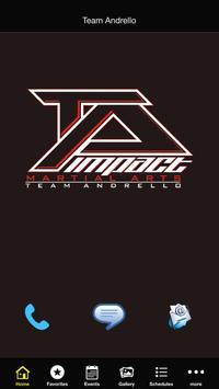 Team Andrello Martial Arts poster