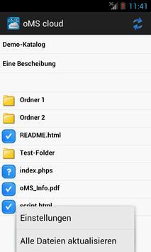 oMScloud apk screenshot