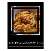 Resep Masakan Ayam Rica 2016 icon