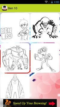 Coloring Book Super Hero Apk Screenshot