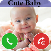 Cute Baby Calling Prank icon
