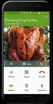 Thanksgiving Turkey Fake Call Prank screenshot 3