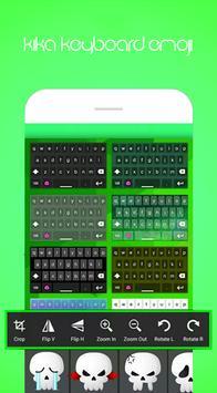 Kika Emoji Keyboard Pro ảnh chụp màn hình 3
