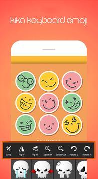 Kika Emoji Keyboard Pro ảnh chụp màn hình 4