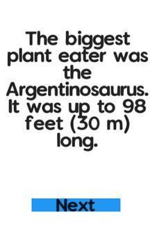 Dinosaur Facts Unlimited screenshot 1