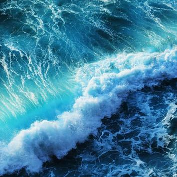 Ocean Waves Live Wallpaper Poster