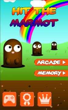 Hit the Marmot - Whack a Mole poster