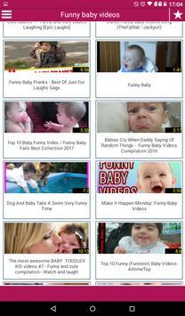 Funny baby videos screenshot 1