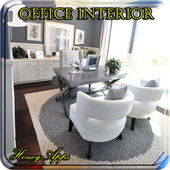 Office Interior Design Idea icon
