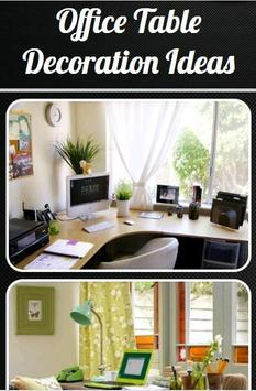 Office Table Decoration Ideas poster