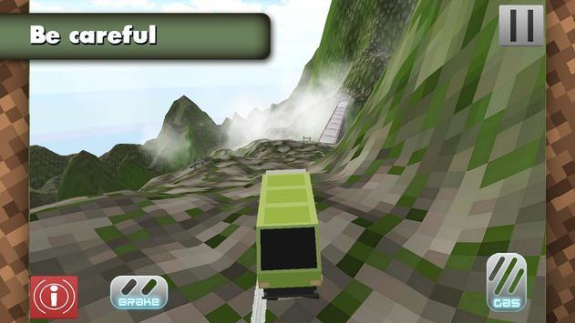 4x4 Offroad Blocky Truck screenshot 5