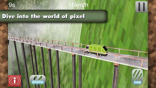 4x4 Offroad Blocky Truck screenshot 6