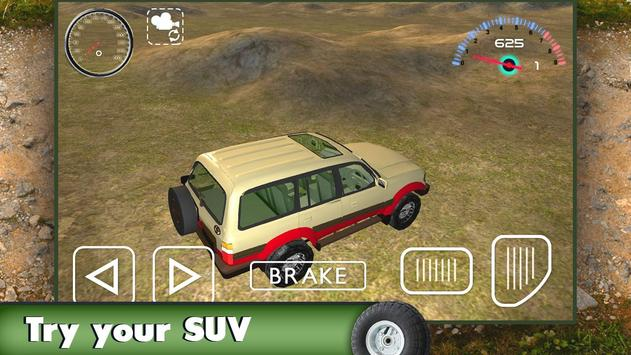 Offroad Jeep 3D 2016 poster
