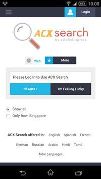 ACX Search screenshot 1