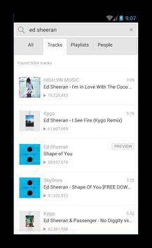 Ed Sheeran Music Player screenshot 3