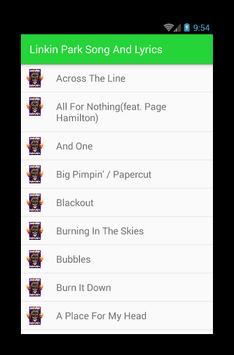 Linkin Park Heavy Song 2017 screenshot 1