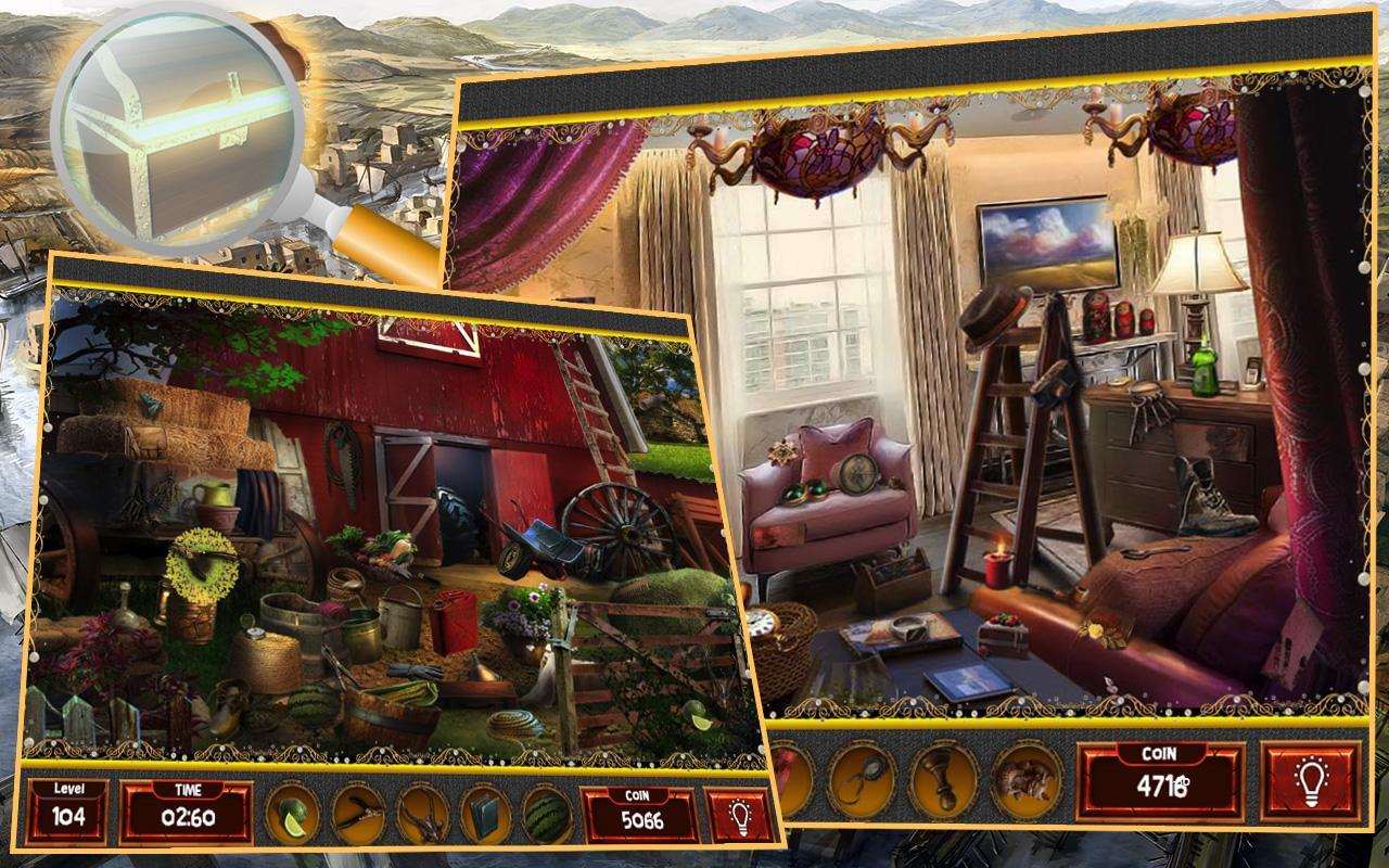Hidden Object Games 200 levels APK Download - Free Puzzle GAME for ...