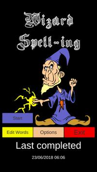 Wizard Spell-ing poster