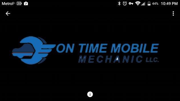 ON TIME MOBILE MECHANIC LLC apk screenshot