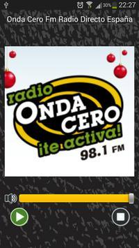 Onda Cero Radio Directo España poster