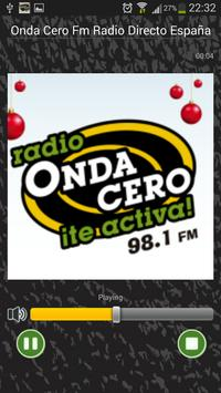 Onda Cero Radio Directo España apk screenshot