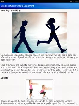Bodybuilding Diet Exercises for men & Women screenshot 11