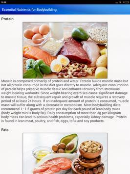 Bodybuilding Diet Exercises for men & Women screenshot 12