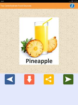 Carbohydrate Rich Food sources screenshot 12
