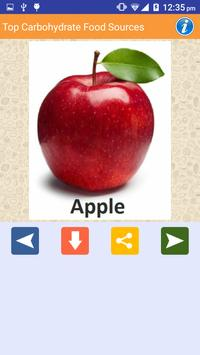 Carbohydrate Rich Food sources screenshot 1