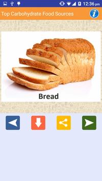 Carbohydrate Rich Food sources screenshot 5