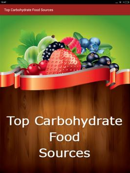 Carbohydrate Rich Food sources screenshot 8