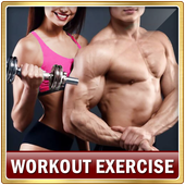 Top Workout Exercises for Men and Women Fitness icon