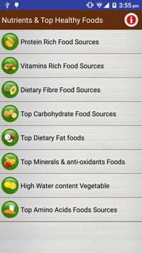 Healthy & Nutrient Rich Foods poster
