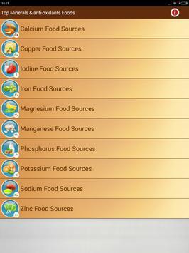 Healthy & Nutrient Rich Foods screenshot 12