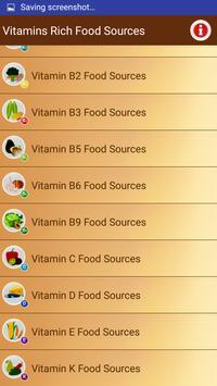 Healthy & Nutrient Rich Foods screenshot 2