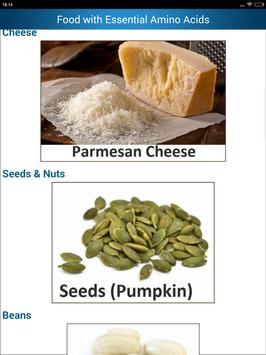 Foods High in Amino Acids & Protein rich Diet help screenshot 11