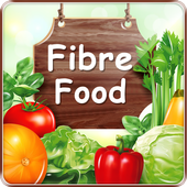 Dietary Fiber Food Sources help heart skin weight icon