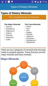 Minerals & Antioxidants Foods Diet sources Guide screenshot 2