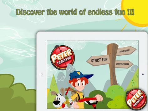Peter The Traveler - Paint it apk screenshot