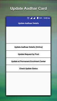 Aadhar card-Download-Update-Status screenshot 1